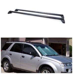 For 2002 2007 Saturn Vue Luggage Carrier Roof Rack Crossbars Cross Bar Cargo Us