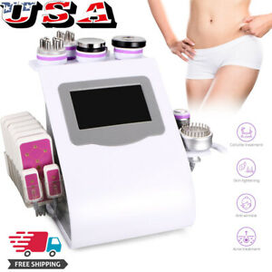 9in1 Cavitation Ultrasonic Radio Frequency Rf Vacuum Cellulite Reduce Machine