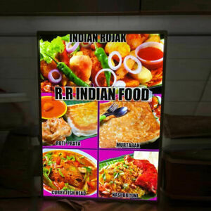 A1 a2 a3 a4 Advertising Display Sign Led Restaurant Light Box Led Menu Board