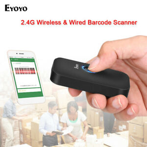 Eyoyo 3 In 1 Bluetooth Barcode Scanner Reader 1d Screen Scanning For Phone Ipad