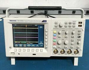 Tektronix Tds3054c Four Channel Color Digital Phosphor Oscilloscope 500mhz 5gs s