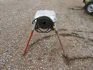 Ridgid Model 400 Pipe Threader With Stand Used