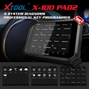 Xtool X100 Pad2 Pro Car Programmer With Kc100 For 4th 5th Immo Auto Scan Tool