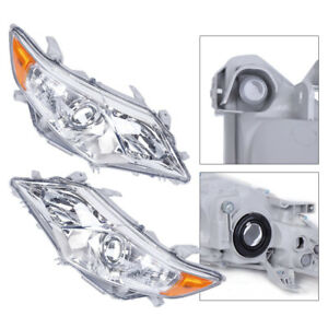 Uprade Projector Headlights Driver passenger Side For 2012 2014 Toyota Camry Us