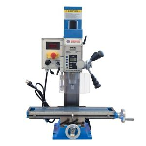 Variable Speed 20 5 1 2 Bench Drill Mill Brushless Motor 1hp