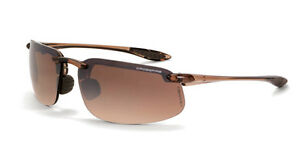 Crossfire By Radians 211125 Es4 Safety Glasses Hd Brown Flash Mirror Lens