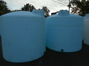 2500 Gal Heavy Duty Water Nitrogen Liquid Fertilizer Etc storage holding Tank