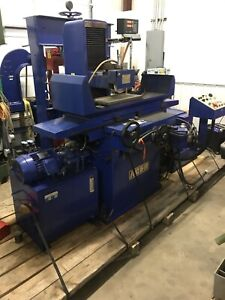 2007 Acer Auto Surface Grinder Ags1020ahd Sony Dro 8 x18 Electro Mag Chuck