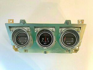1971 1973 Ford Mustang Center Gauge Cluster Reconditioned Optional 1972 2026
