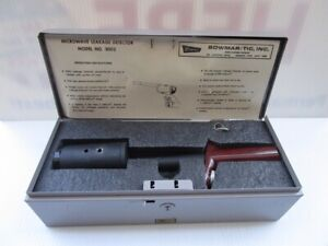 Bowmar tic Oven System Microwave Leakage Detector Model 3002