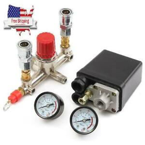 Portable Air Compressor Pressure Control Switch Valve Regulator 90 120 Psi With