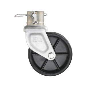 6 Caster Trailer Jack Wheel With Pull Pin