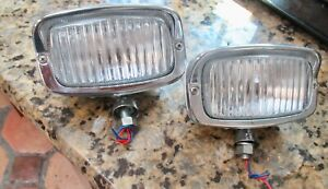 Rare Large Back Reverse Fog Lamp Vw Beetle Porsche 356 Split Kdf Oval 1200 K Fer