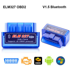 Elm327 Obd2 Code Reader Scanner V1 5 Bluetooth Diagnostic Interface Fit Android