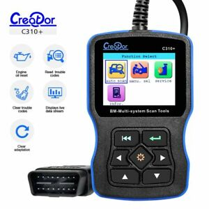 Creator C310 Obdii Code Reader Scanner Multi System Auto Diagnostic Scan Tool