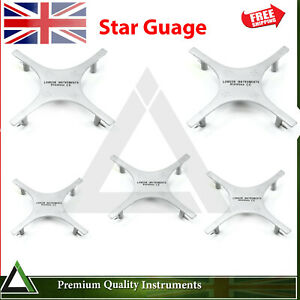 Dental Star Guage Orthodontics Bracket Placing Accurate Posionting Instruments