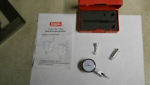 Spi 14 659 7 Dial Test Indicator W dove Tail Mounts New