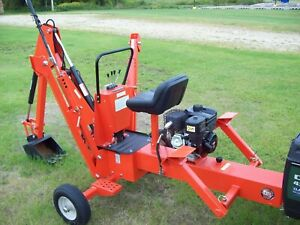Dr Power Products Towable Backhoe New save Big