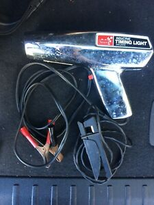 Sears Craftsman Inductive Timing Light W Cables Tested Automobile