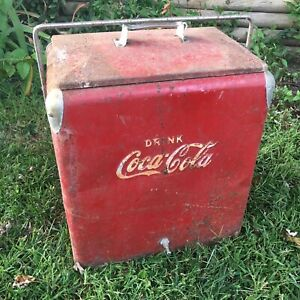 Vintage Orignal Coca-Cola Ice Chest Cooler