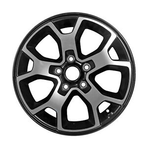 Take Off 17x7 5 10 Slot Alloy Wheel Polished And Black 9218