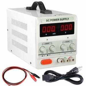 Ms305d 30v 5a Dc Bench Power Led Digital Variable Precision Adjustable Power