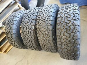 Four New 235 75 15 Bf Goodrich Bfg All Terrain T a Ko2 104s C 6 Ply Tires