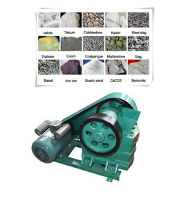 Intbuying Mini Jaw Crusher For Crushing Calcite basalt Etc 220v 60 100mm Newest