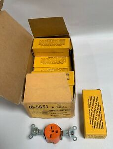 9 Unused Hubbell Ig 5651 3 wire Isolated Ground Receptacle Plug Outlet a18