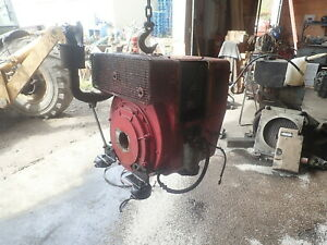 Hatz 1l41c Silent Pak Diesel Engine Runs Good 1 Cyl Power Unit 1l40