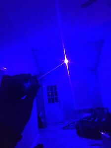 High Power Blue Burning Laser Wicked Powerful Kit New