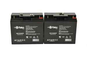New Ub12220 Replacement 40696 Agm12v 22ah 12volt Sealed Lead Acid Battery 2pack