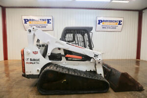 2014 Bobcat T750 Skid Steer Track Loader Orop 81hp And Hand And Foot Controls