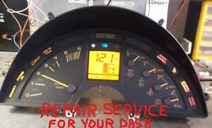 1990 91 92 93 94 95 1996 C4 Corvette Inst Cluster Repair Service Fall Special