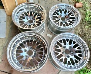 4 Rims Ccw Classic 3 Piece 17x9 17x11 5 5x130 Porsche Wide Body