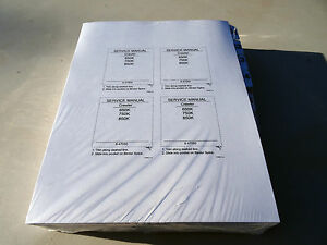 Case 650k 750k 850k Crawler Dozer Service Repair Shop Manual Book Unopened
