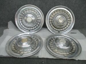 1959 Cadillac Hubcaps Set Of 4