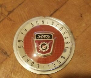 1953 Ford Horn Button Center 50th Anniversary 1903 1953