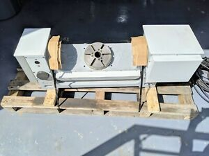 Haas Tr210 4th 5th Axis Trunnion Rotary Table 23 5