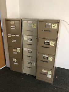 File Cabinets Miscellaneous Lot Of 14