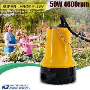 50w Low Consumption Mini Dc12v 4 5m Fand h Motor Submersible Water Pump Home