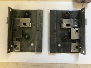 N o s L R 1942 1946 1947 1948 Ford Merc Woodie Wagon Rear Door Latches Pair
