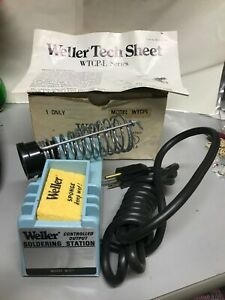 Vtg Weller Model Wtcpl Controlled Output Soldering Station W tcp l Nos No Pencil