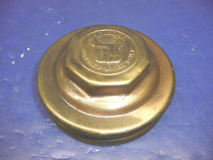 Vintage 1924 1925 Cadillac Grease Cap Brass Color Ct6