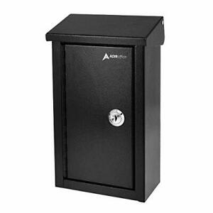 High Quality Outdoor Storage Secure Drop Box For Home Business Use black