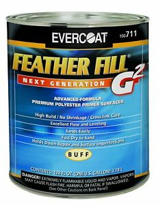 Evercoat 711 Feather Fill G2 Buff Polyester Primer Surfacer 1 Gallon