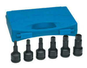 3 4 inch Drive Hex Driver Set 6 piece