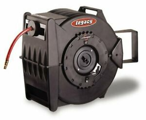Legacy Levelwind Retractable Air Hose Reel 3 8 In X 100 Ft Pvc L8310