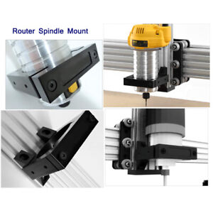 80mm Aluminum Cnc Router Spindle Mount Kit Engraving Machine Spindle Clamp Set