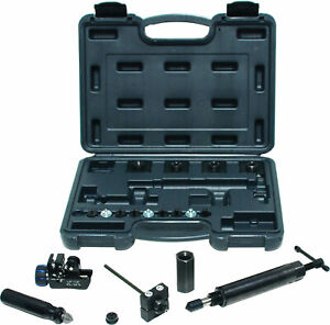 Cal van Tools 166 Hydraulic In Line Flaring Heavy Duty Swaging Tool Kit With T
